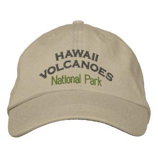 Parque nacional de los volcanes de Hawaii Gorra De Béisbol Bordada