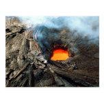 Parque nacional de los volcanes de Hawaii Tarjetas Postales
