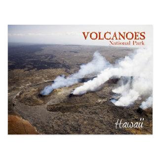 Parque nacional de los volcanes de Hawaii (whs de Postales