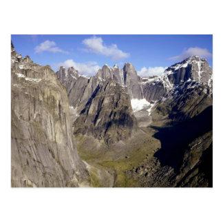 Parque nacional de Nahanni, territorios del Postales