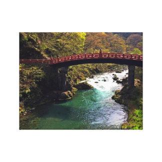 Parque nacional de Nikko - arte envuelto Japón de Impresiones En Lona Estiradas