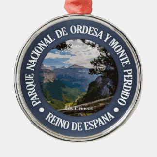 Parque Nacional de Ordesa y Monte Perdido Metal Ornament