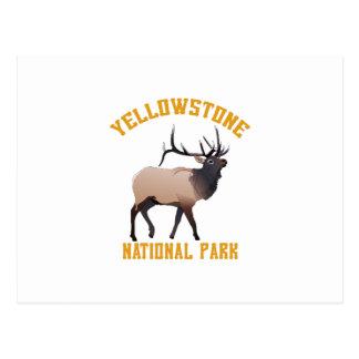 Parque nacional de piedra amarillo postal