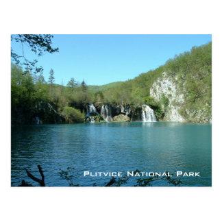 Parque nacional de Plitvice Postal