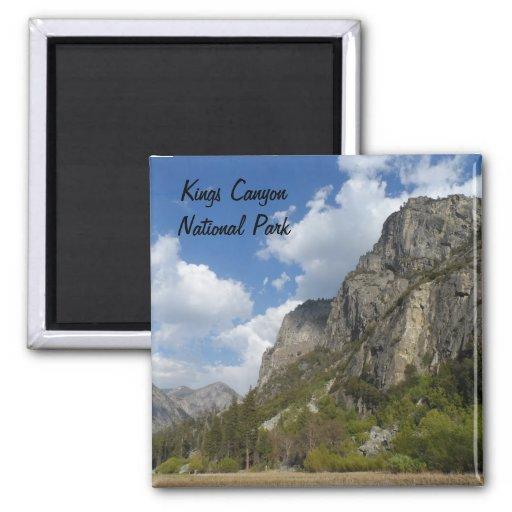 Parque nacional de reyes Canyon del prado de Zumwa Imán Cuadrado