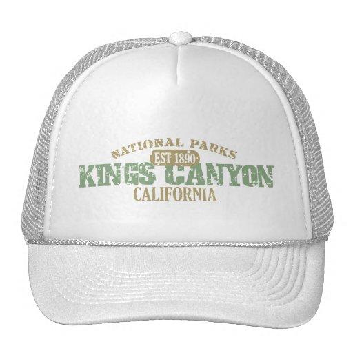 Parque nacional de reyes Canyon Gorra