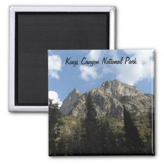 Parque nacional de reyes Canyon Imán Cuadrado