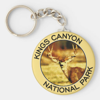 Parque nacional de reyes Canyon Llaveros Personalizados