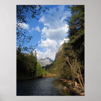 Parque nacional de reyes Canyon Póster