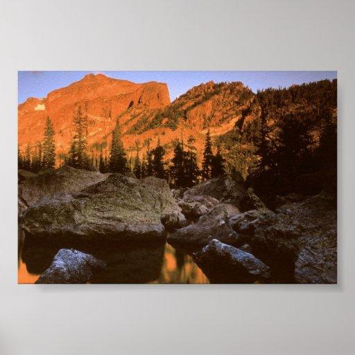 Parque nacional de Rocky Mt., Colorado Póster