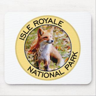 Parque nacional de Royale de la isla Alfombrilla De Ratones