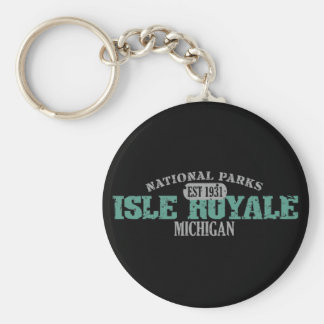 Parque nacional de Royale de la isla Llaveros