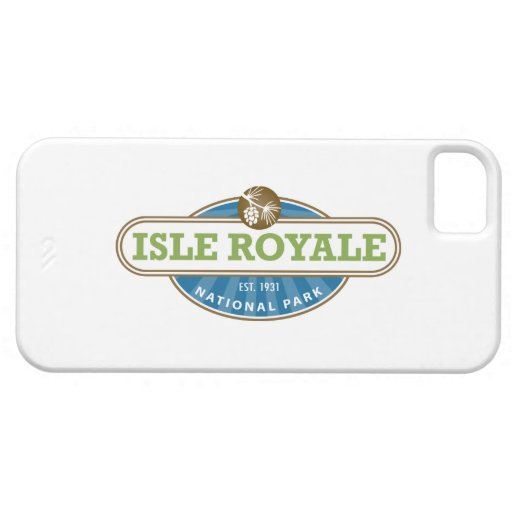 Parque nacional de Royale de la isla - Michigan iPhone 5 Cobertura