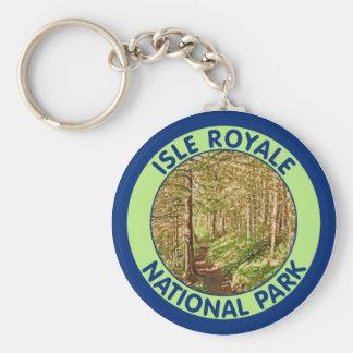 Parque nacional de Royale de la isla, Michigan Llaveros