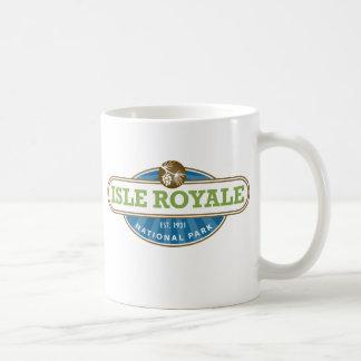 Parque nacional de Royale de la isla - Michigan Taza De Café
