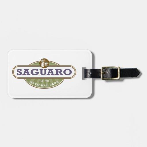 Parque nacional de Saguaro Etiquetas De Equipaje