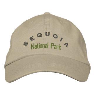 Parque nacional de secoya gorra bordada