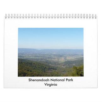 Parque nacional de Shenandoah Calendarios De Pared