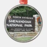 Parque nacional de Shenandoah Ornamento Para Arbol De Navidad