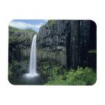Parque nacional de Skaftafell, cascada de Svartifo Imán