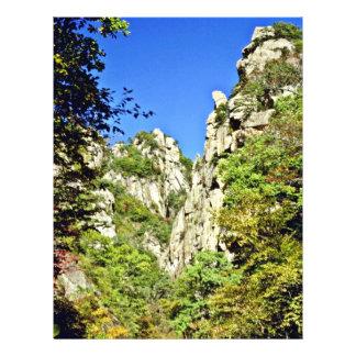 "Parque nacional de Soraksan Folleto 8.5"" X 11"""