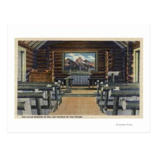 Parque nacional de Teton, WY - la alteración Postal