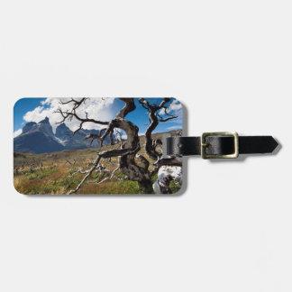Parque nacional de Torres del Paine, árboles Etiquetas Bolsa