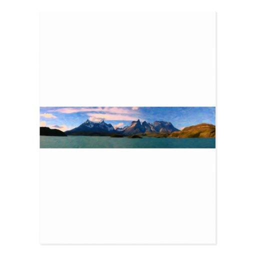 Parque nacional de Torres del Paine, Chile.jpg Tarjeta Postal