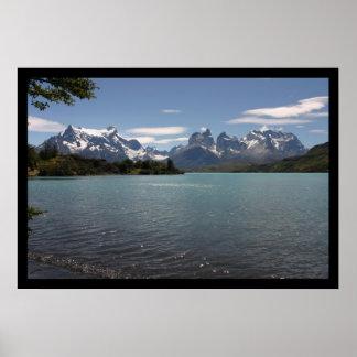 Parque nacional de Torres del Paine, Chile Póster