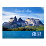 Parque nacional de Torres del Paine, Chile Tarjetas Postales