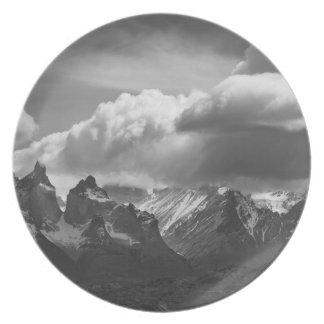 Parque nacional de Torres Del Paine, Cuernos y Plato De Cena