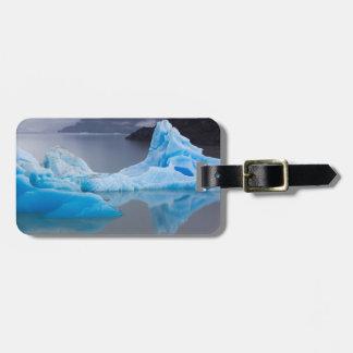 Parque nacional de Torres del Paine, hielo glacial Etiqueta De Equipaje