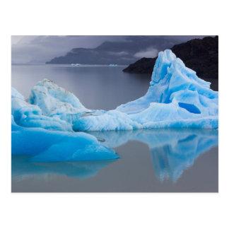 Parque nacional de Torres del Paine, hielo glacial Postales
