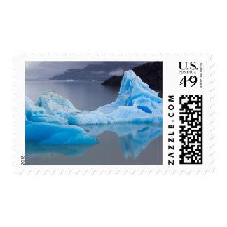 Parque nacional de Torres del Paine, hielo glacial Timbres Postales