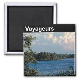 Parque nacional de Voyageurs Imán De Nevera