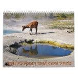 Parque nacional de Yellowstone Calendarios De Pared