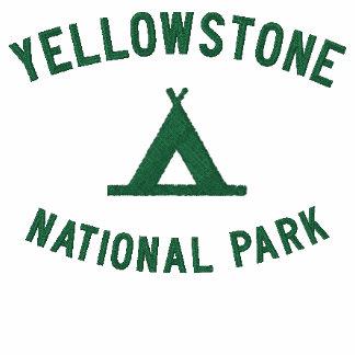 Parque nacional de Yellowstone Camiseta Polo Bordada