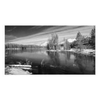 Parque nacional de Yellowstone del lago Sylan Impresión Fotográfica