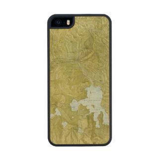 Parque nacional de Yellowstone Funda De Arce Carved® Para iPhone 5