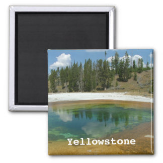Parque nacional de Yellowstone Imán Cuadrado
