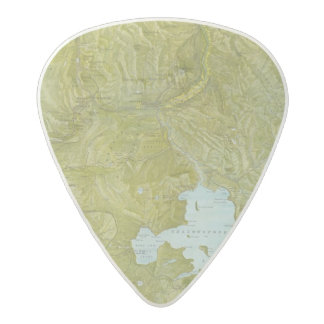 Parque nacional de Yellowstone Púa De Guitarra Acetal