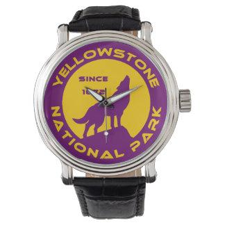 Parque nacional de Yellowstone Relojes De Pulsera