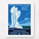 Parque nacional de Yellowstone Tapete De Ratón