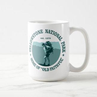 Parque nacional de Yellowstone Tazas De Café