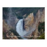 Parque nacional de Yellowstone, un Fa más bajo… Tarjetas Postales