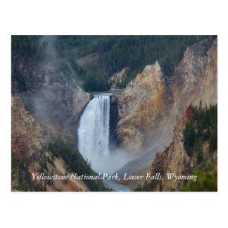 Parque nacional de Yellowstone, un Fa más bajo… Postal
