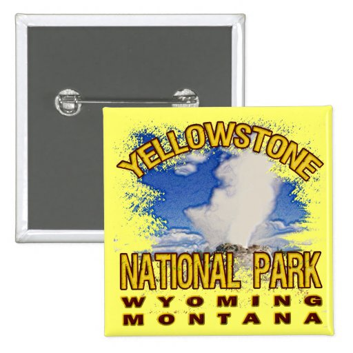 Parque nacional de Yellowstone, Wyoming Montana Pins