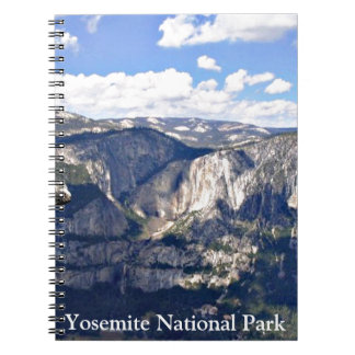 Parque nacional de Yosemite (b) Libreta Espiral