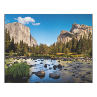 Parque nacional de Yosemite, California Impresión En Madera