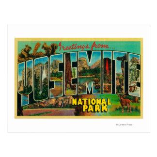 Parque nacional de Yosemite, California - Lette Postal